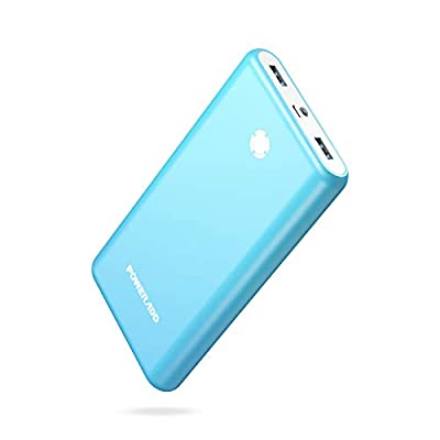 Poweradd Pilot X7 20000mAh Portable Charger External Battery Power Bank Compatible for iPhone 11, 11 Pro, 11 Pro Max, iPad, iPod, Samsung, most other Phones and Tablets- Blue