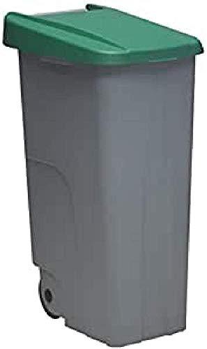 Denox DEN032 Contenedor Reciclo 110 litros Cerrado,...