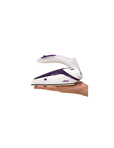 Ferro da Stiro a Vapore secco da viaggio UFESA PV0500 75 g/min 1100W Bianco Viola