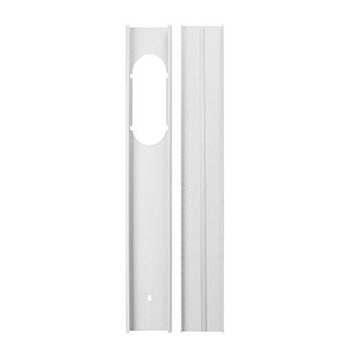 Fensterabdichtung Kit KKmoon 1,3M Fenster Kit Platte für mobile Klimaanlage und Ablufttrockner