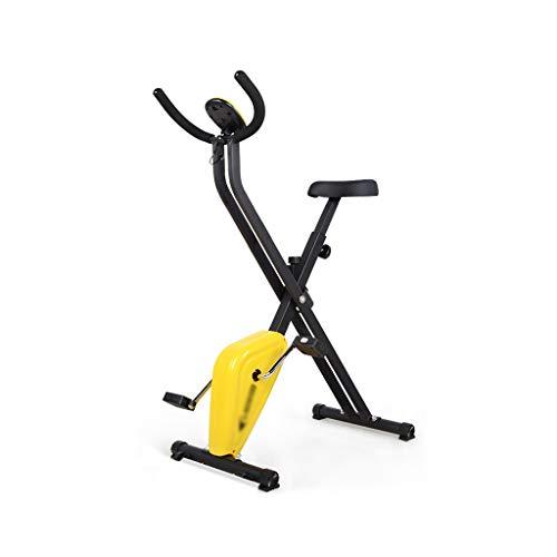 NRR Bicicleta de Ejercicio magnética Plegable en posición Vertical, Cuerpo Entero de Entrenamiento Integral Peso de rodamiento 70kg de Ciclismo Interior