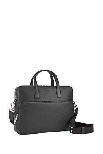 BOSS - Crosstown_s Doc Case, Bolsas para portátil Hombre, Negro (Black), 8.5x30x38 cm (B x H T) 5