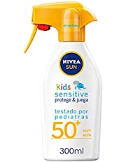 Nivea SUN NIÃ'OS PROTEGE&JUEGA sensitive SPF50+ pistola 300 ml