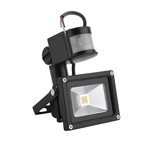 zhouweiwei 10W Lámpara Exterior de Gargen Proyector LED