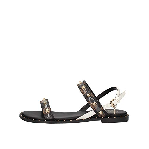 GUESS Ofelia Sandals Women Black - 5.0 - Sandals Shoes