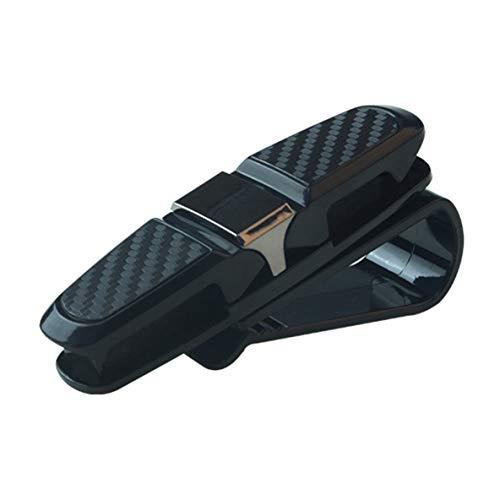 ACEHE Clip para Gafas, Clip de sujeción Universal portátil Clip para anteojos Abrazadera para Tarjeta de Ticket ABS Fundas para Gafas de Coche Visera para el Sol para Coche Soporte para Gafas de Sol
