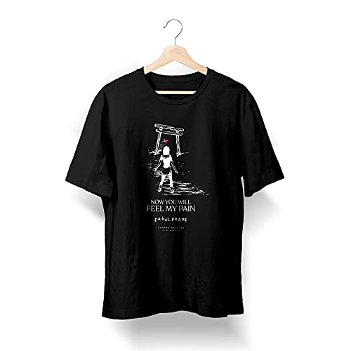 Camiseta Masculina - Camera Obscura - Fatal Frame - You WIll Feel My Pain (XGG)