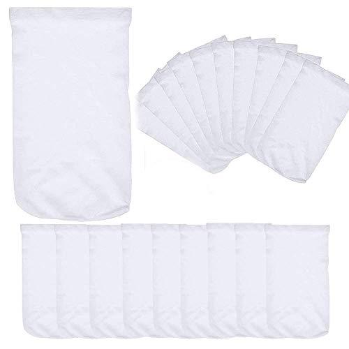 20 Pack de calcetines para piscina de filtro de piscina de filtro de filtro de piscina de ahorro de calcetines de red cestas y skimmers piscina spa suministro elástico nylon tela filtros
