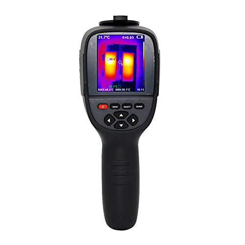Termocamera a Infrarossi Professionale Portatile, Termocamera, 220 x 160 pixel, Display a Infrarossi da 3,2 Pollici, con Scheda di Memoria 3G