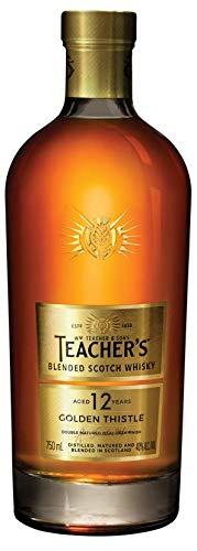 Whisky Teachers 12y 750 ml Teacher's Sabor 12 Anos 750 ML