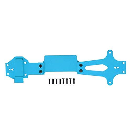 SHIZHI Accesorios de Piezas de Repuesto de la Placa del Segundo Piso RC Ajustar para WLTOYS 144001 1/14 Control Remoto Accesorio de automóvil Accesorio del Segundo Piso (Color : Blue)