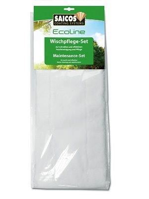Saicos Ecoline Wischpflege-Set 8188Eco 2x Ersatztücher