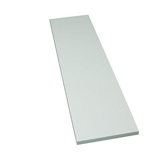 Möbelbauplatte Regalbrett Grau 800 x 300 x 16 mm, 4 Seiten umleimt