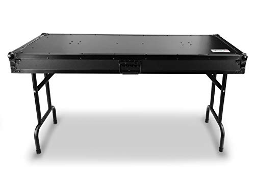 Audibax Pro-Table DJ Mesa Universal para DJ Plegable