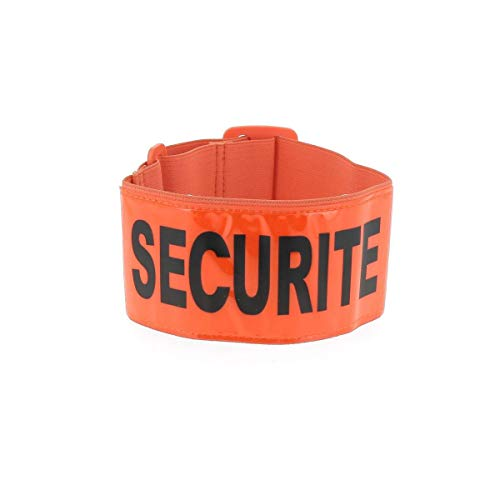 Brassard Fluo SECURITE - Orange - Patrol