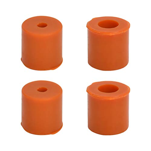 N\A 4Pcs Hot Bed Leveling Silicone Column 3D Printer Heated Bed Silicone Leveling Parts Heatbed Silicone Leveling Column Heat-resistant Silicone Buffer Heating Tray 3D Printer heatbed Leveling Parts