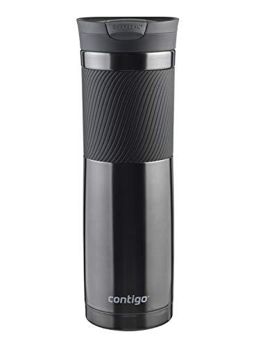 Contigo Thermobecher Byron Snapseal, Edelstahl Isolierbecher, Kaffebecher to go, auslaufsicher, spülmaschinenfester Deckel BPA-frei, 720 ml