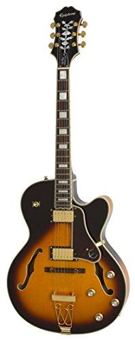 Epiphone Joe Pass Emperor-II PRO - Guitarra eléctrica, color vintage sunburst