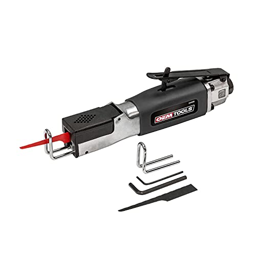 OEMTOOLS 24409 Heavy Duty Reciprocating Air Saw, Connect to Air Compressors to Cut Wood, Pipe, Hard to Remove Nails, Dry Wall, Fiberglass, and Aluminum