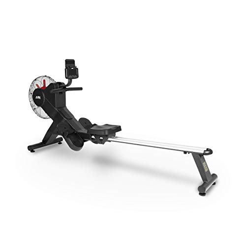 JLL® Ventus 3 Air Resistance Home Rowing Machine, 2021 Model, Kinomap App Compatible, Fitness...