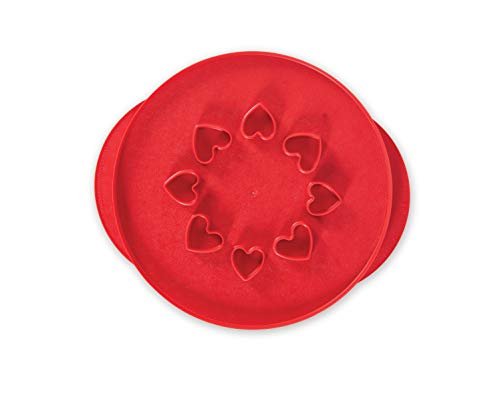 Nordic Ware Lattice amp Hearts Pie Top Cutter 12 inch