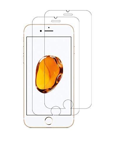 WEOFUN [2 Stück Panzerglasfolie für iPhone 6 Plus/iPhone 6s Plus/iPhone 7 Plus/iPhone 8 Plus,Panzerglas kompatibel mit iPhone 6 Plus/6S Plus/7 Plus/8 Plus