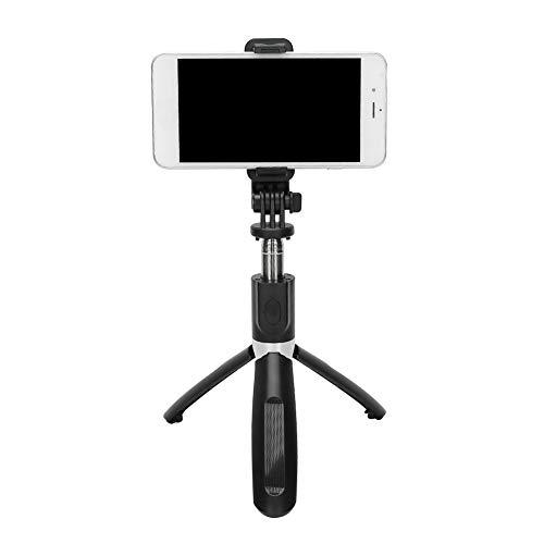 Annadue Selfie Stick Bluetooth avec télécommande, Support Universel Multifonction pour téléphone Portable Bluetooth Selfie Stick, adapté à la Diffusion en Direct, aux Voyages.