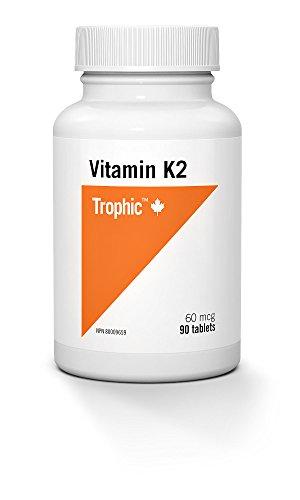Trophic Vitamin K2 MK-4 60mcg 90 Tablets