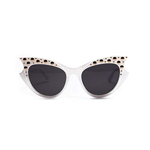 Drreny Rivet zonnebril_18550 Cat Eye Rivet zonnebril Europa en de Verenigde Staten Big Box