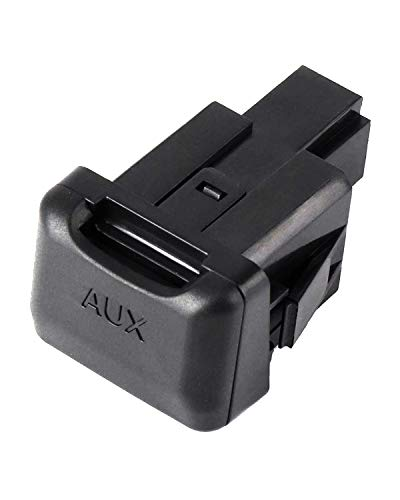 Aux Port Replacement Compatible with 2006-2011 Civic, Auxiliary Input Adapter Audio Input Jack, 39112-SNA-A01