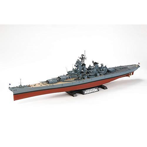 タミヤ 1/350 艦船シリーズ No.29 アメリカ海軍 戦艦 BB-63 ミズーリ 1991年仕様 プラモデル 78029