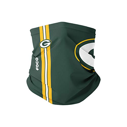 Green Bay Packers NFL On-Field Sideline Logo Gaiter Scarf - Youth