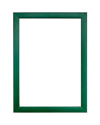Gamma arcobaleno Cornice per immagini / foto / poster con foglio in plexiglass - Verde - a3