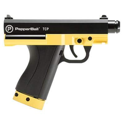 PepperBall Tactical Compact Pistol (TCP) Consumer Kit, Police Grade Less Lethal Self-Defense