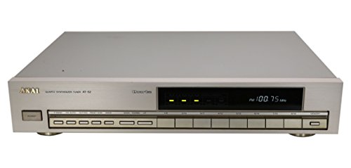 Akai AT-52 Stereo Tuner in Silber