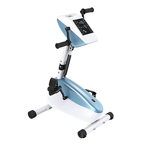 Pedal de ejercicio eléctrico motorizado Ejercitador de fisioterapia y rehabilitación electrónica Pedal de bicicleta Entrenador motorizado Ejercitador de pedal eléctrico Ejercicio de brazos / piernas