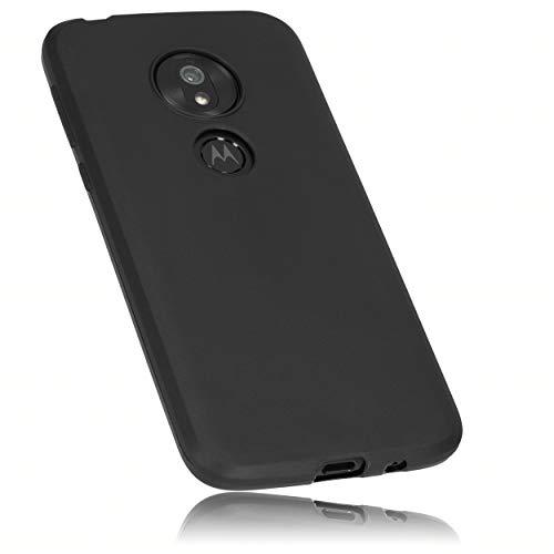 mumbi Hülle kompatibel mit Motorola Moto G7 Play Handy Hülle Handyhülle, schwarz