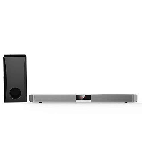 ZWMM Altavoces De La Barra De Sonido Bluetooth Inalámbrico con Control Remoto Los Altavoces Inalámbricos Bluetooth 2.0 Admiten La Instalación De Esc