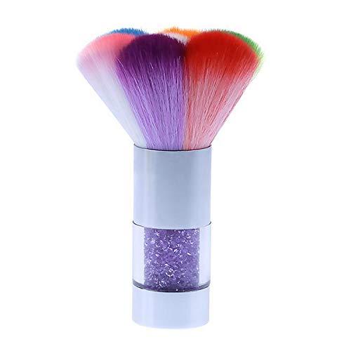 Fashin Arc-En-Strass Nail Art Poudre En Poudre Nettoyage Remover Brosse Manucure Outil pour Professionnel Salon Maison Usage Quotidien Argent