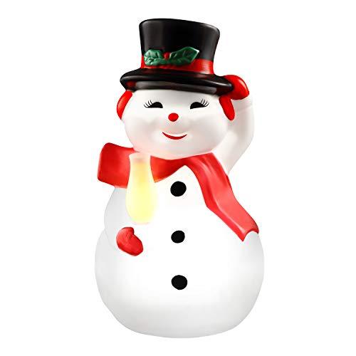 Mr. Christmas 24' Blow Mold Icon - Snowman Christmas Décor, White