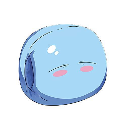 Futrecos That Time I Got Reincarnated as a Slime Throw Almohadas Azul Rimuru Tempest Plush Doll Toy Anime Regalo para niñas y niños