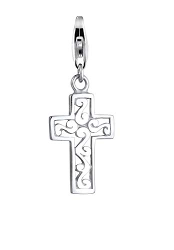 Nenalina plata charm colgante cruz para collares y pulseras para mujer 713020-000
