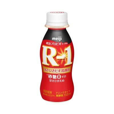 明治プロビオヨーグルト R-1 ドリンクタイプ 砂糖0 甘さひかえめ112ml×24本