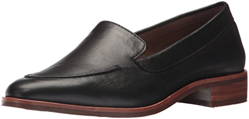 Aerosoles Women's East Side Loafer, Black Leather, 6 M US