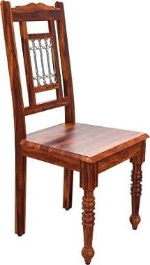 Vinod Furniture Sheesham Teak Wood Wooden Dining Table 4 Seater Wood Dining Set | 4 Seater Dining Table Set | Living Room | D