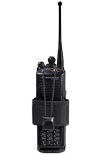 Bianchi Accumold 7323 Adjustable Black Radio Pouch (Size: 1)