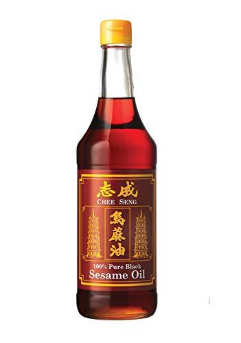Chee Seng Öl Sesam schwarz, 1er Pack (1 x 650 ml)