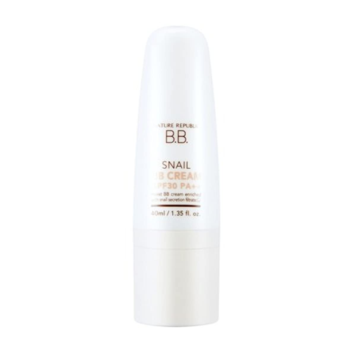 欠かせないコモランマ経験者NATURE REPUBLIC Snail BB Cream (SPF30PA++)-No.1