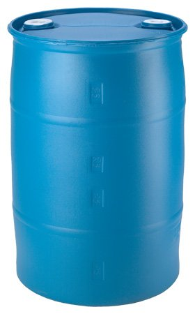 30 Gallon Plastic Water Barrel (Renewed)