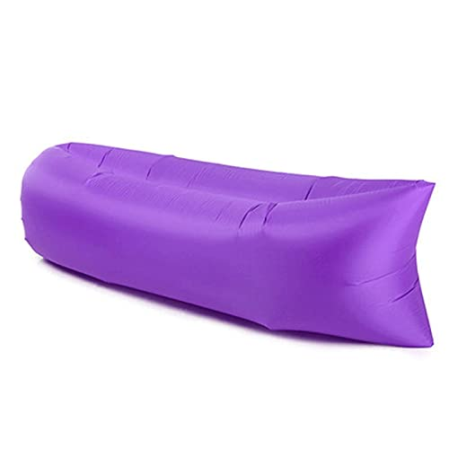 ZXZCHGN Sofá Inflable Plegable tumbonas inflables sofá Cama para Dormir, sofá al Aire Libre rápido de Aire infaltable, para Viajes al Aire Libre Camping Senderismo Piscina Piscina Fiestas de Playa